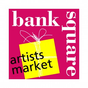 The present logo of Bank Square Artists markets